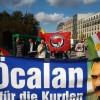 """""""Freiheit für Öcalan""""-Bus heute in Bremen"""